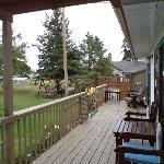 Balkon vor der Gardensuite