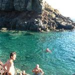 The main swimming area