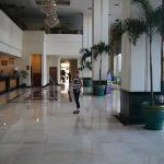 Lobby of the hotel