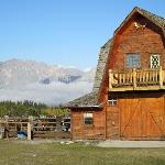 Barn and Rockies