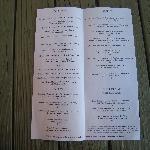 Inside the menu