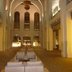 La seconde partie ancienne du hall