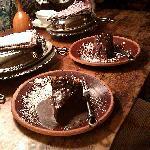 Chocolate Cheesecake welcome
