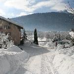 Winterfoto vom Enzianbrenner