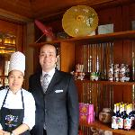 The Thai Chef and F&B Hyatt who took great care of me