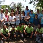 Our happy tour group and guides