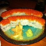 California Roll with Tobiko