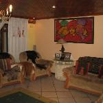 The living room at Liziwe's