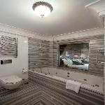 jacuzzi in executive room