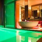 Private Pool and Bathroom