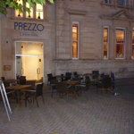 The outside of Prezzo, Torquay