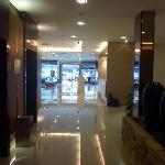 Lift at lobby