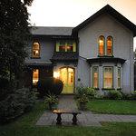 Legacy House at dusk