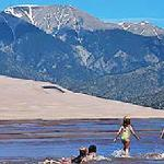 Great Sand Dunes National Park nearby