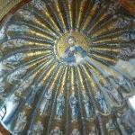 eine der Kuppeln mit Christus