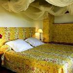 El hotel está rodeado de flores de diferentes aromas y belleza excepcionales que despliegan sus
