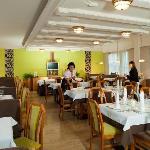 Der Speisesaal Im Hotel Eggerbräu