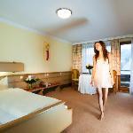 Ansicht eines Zimmers im Hotel Eggerbräu in Imst