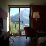 Blick aus dem Zimmer
