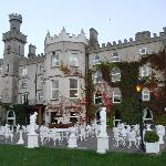 Outside view of Cabra Castle and grounds