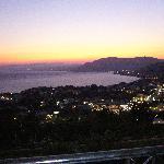 sunset over Pefkos  from Dimitris Studios