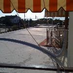 Aussicht von Zr. 9 auf Neubau