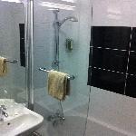 Bathroom very comfortable