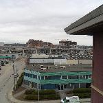 Blick aus dem obersten Stock, Richtung Skytrain