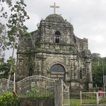 the front of bato church
