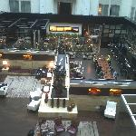 The gorgeous 8th floor lobby.