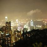 View from The Peak at night