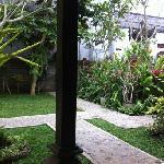 beautifull garden @Nick's Homestay