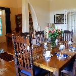 Beautifully furnished with family antiques
