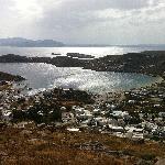 Yalos beach and port