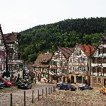 Market square in Schiltach