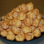 Amazing cream puffs