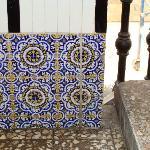 mosaicos en escalera al segundo piso