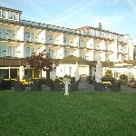 Hotel Rear & Garden
