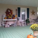 Piney Hill Front porch