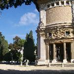 Villa Borghese - arquitectura y verdor