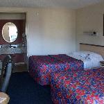 Zimmer des Motels