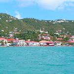 Charlotte Amalie by water