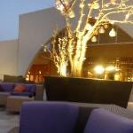 upper terrace in hotel