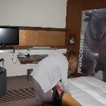 Separater Raum in unserem Hotelzimmer