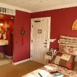 Oriental Poppy Bedroom