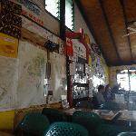 Inside Cafe Tropicana