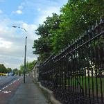 Fence across King's Inns