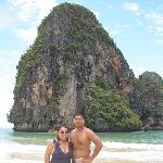 Kim and Mo on the Beach