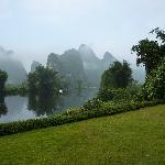 View from Mountain Retreat Hotel on the Li River
