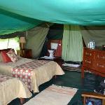 Tent 2 interior